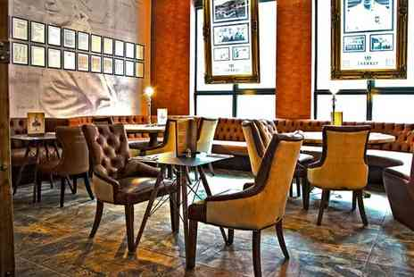 The Shankly Hotel - Two course dining for two including a glass of Prosecco and cocktail each - Save 57%