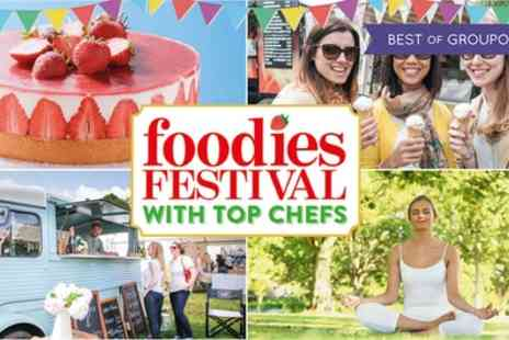 Foodies Festival - Tickets to Foodies Festival on 1 to 3 September - Save 50%