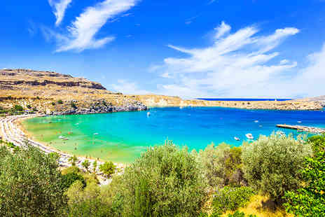 Weekender Breaks - Three, five or seven night all inclusive Rhodes stay with flights - Save 34%