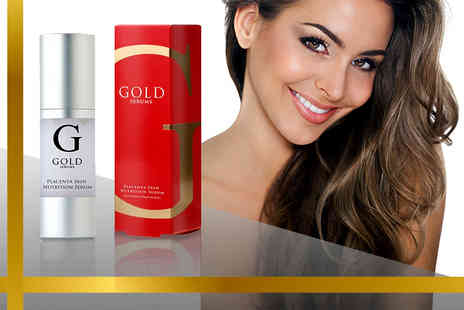 Gold Serums - Placenta nutrition serum - Save 83%