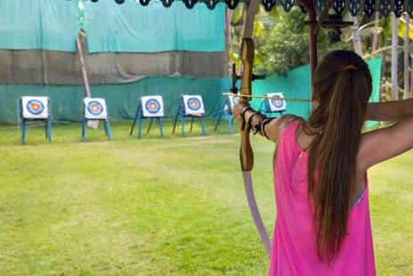 The Archery Group - 90 minute archery taster session - Save 37%