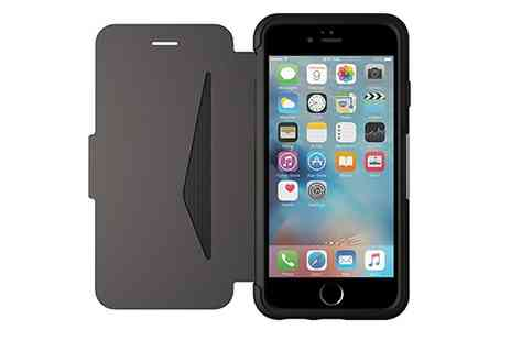 Groupon Goods Global GmbH - Otterbox Strada Leather Folio Case for iPhone 6 Or 6s - Save 55%