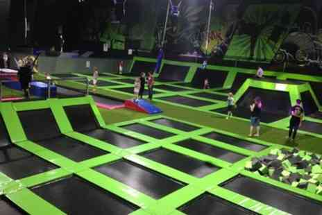 Flip Out Southampton - One Hour Bouncing Session for Up to Four, or Annual Pass for One - Save 25%