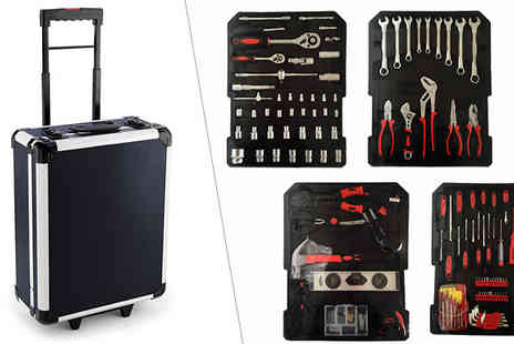 F & A Mediterranean Delicatessen - 700 Piece Mechanics Tool Set With Trolley Case - Save 30%