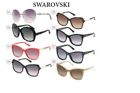 Brand Logic - Pair of Swarovski sunglasses choose from 15 styles - Save 73%