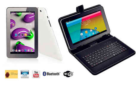 Jaoyeh - 9 inch Smartpad Lite tablet or tablet with an optional keyboard case - Save 71%