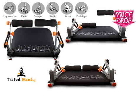 Kequ World - Total body exercise system with a limited number available - Save 74%