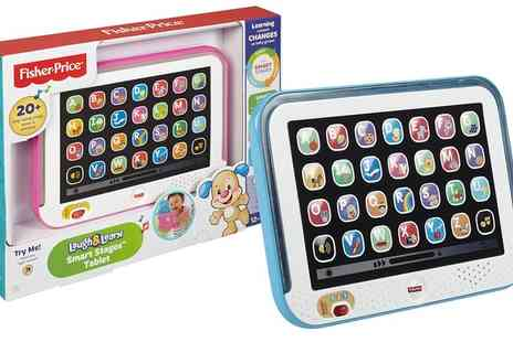 Groupon Goods Global GmbH - Fisher Price Smart Stages Kids Tablet - Save 52%