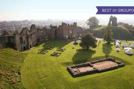Tutbury Castle - Tickets to Operation Tutbury Castle on 28 to 29 May - Save 60%