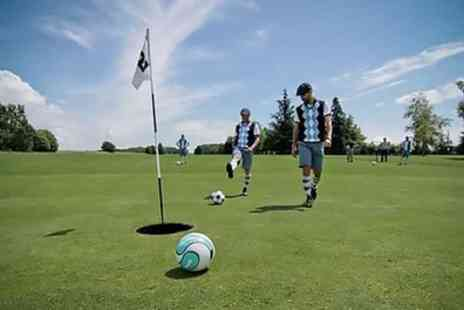 South Essex Golf Centre - 18 Holes of Foot Golf with a Drink - Save 34%