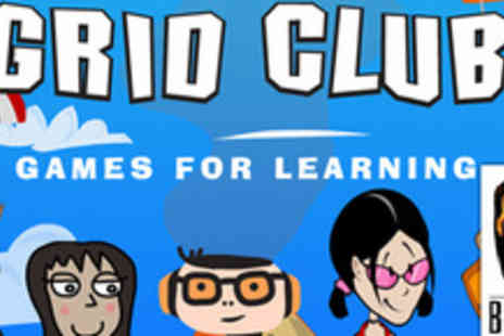 GridClub - Help you kids to love learning with a one-year subscription - Save 57%