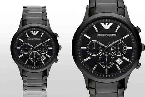 Gray Kingdom - Emporio Armani watch - Save 67%