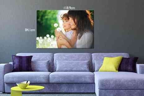 Your Perfect Canvas - An a0 personalised canvas - Save 79%