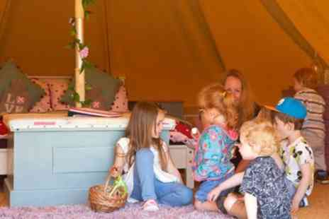 Merry Dale Bell Tents - Two or Four Night Bell Tent Glamping for Four with Option for Prosecco - Save 34%