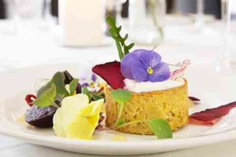 Glewstone Court Hotel - Highly Rated Tasting Menu Dinner for 2 - Save 43%