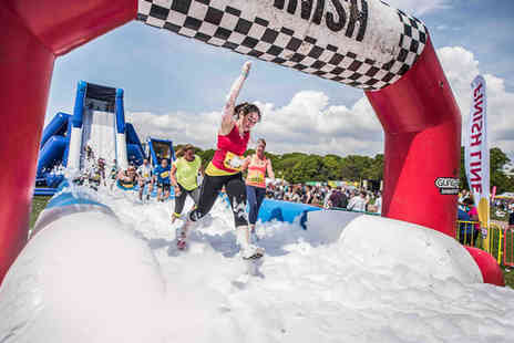 Be Gung Ho - Ticket to take part in an inflatable 5k run in Kent, Southampton or Norwich - Save 29%