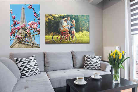 Your Perfect Canvas - A2 personalised canvas or an A1 canvas - Save 80%