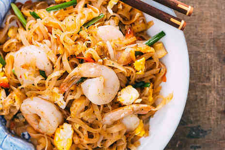 Foo Kin Gusto - Two course Thai meal for two - Save 47%