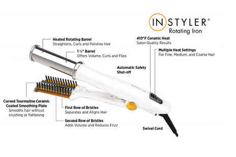 Internet Shop UK - InStyler titanium rotating hair iron plus Get a Free Heat Mat - Save 63%