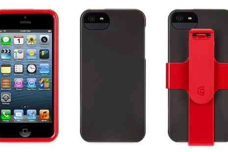 Groupon Goods Global GmbH - One or Two Griffin Red FastClip Armbands for iPhone 5,5S Or SE - Save 64%