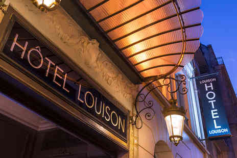 Louison Hotel - Three Star Parisian Retreat For Two in the Heart of the Left Bank - Save 0%