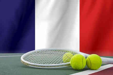 Tour Center - Roland Garros Tennis French Open ticket plus 1 Night Hotel Stay - Save 0%