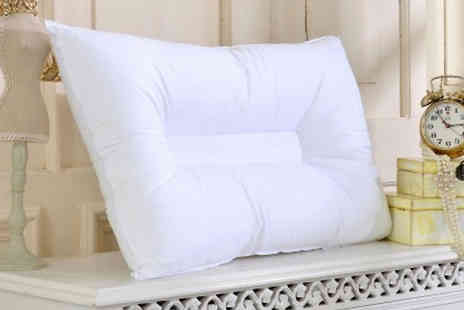 Home Decor Online - Stop Snoring Orthopaedic Pillow One or Two - Save 75%