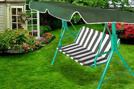 Home Decor Online - Childrens Two Seater Garden Swing - Save 40%