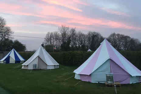 Botany Camping - Two or three nights of luxury glamping Stay in a bell tent for up to five - Save 50%