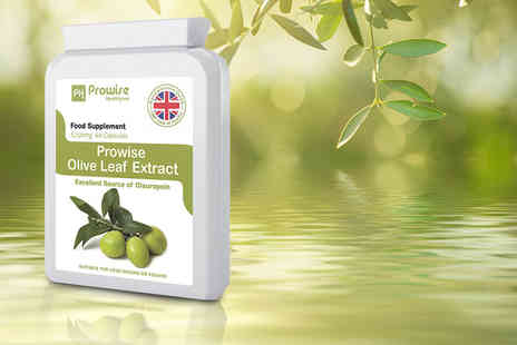 Prowise Healthcare - Olive leaf extract capsules - Save 68%