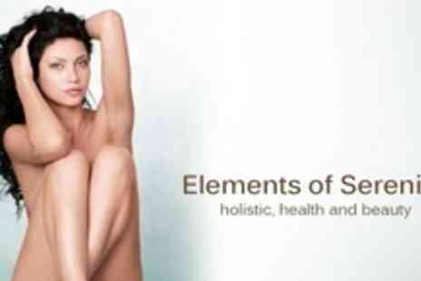 Elements of Serenity - IPL Hair Removal Six Sessions on One Large Area Such as Half Leg or Two Small Areas - Save 92%
