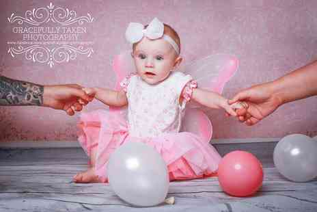 Gracefully Taken Photography - Princess or superhero themed photoshoot including a mug and keyring - Save 70%