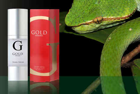 Gold Serums - Snake serum wrinkle killer - Save 85%