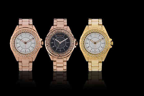 Deals Direct - Jean Bellecour A0267 womens watch choose from three stunning case and dial colour combinations - Save 0%