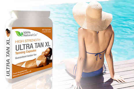 Premium Leisure Distribution - 90 Ultra Tan XL tanning capsules - Save 75%