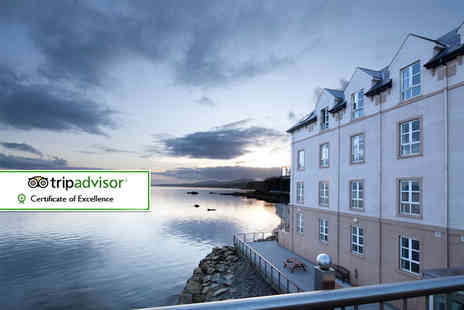 Redcastle Hotel Golf and Spa - One or two night stay for two with breakfast, glass of sparking wine and €20 spa credit - Save 38%