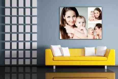 Grange Print - Personalised Canvas in Choice of Sizes - Save 93%