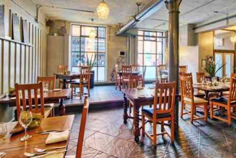 PIMS restaurant - Three Course Meal & Wine for 2 - Save 47%