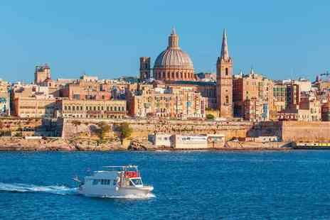 Bargain Late Holidays - Two, three or four night 4 Star Malta spa break with flights - Save 38%