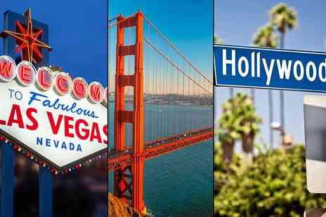 Weekender Breaks - Seven night Las Vegas, San Francisco and LA holiday with all flights - Save 46%