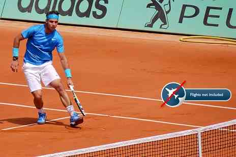 Tour Center - Two night Paris stay with French Open tennis outside courts general admission ticket - Save 0%