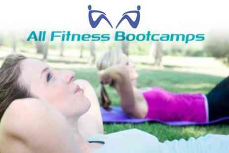 All Fitness Bootcamps - Ten Training Sessions for £19 - Save 81%