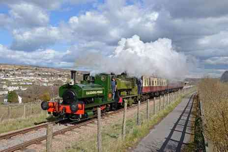 Pontypool and Blaenavon Railway Company - Steam train journey ticket for two adults or ticket for a family of five - Save 33%