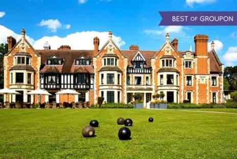 Wood Norton Hall Hotel - One or Two Nights Stay for Two with Breakfast, Jug of Pimms and Options for Dinner - Save 0%