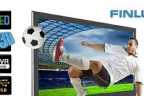 Finlux Direct - Finlux 42� LED 3D Full HD TV Plus Eight Pairs of 3D Glasses With Wall Bracket or Warranty Options - Save 50%