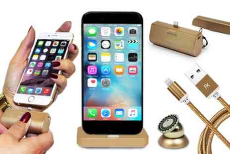 Groupon Goods Global GmbH - Bundle of Accessories for iPhone in Choice of Colour - Save 82%