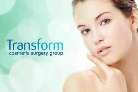 Transform Cosmetic Surgery Group - Four Glycolic Peels for £49 - Save 77%