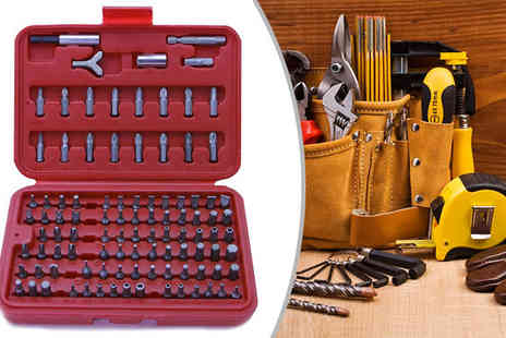 M&M Deals - 100 Piece Rolson Screwdriver Bit Set - Save 0%