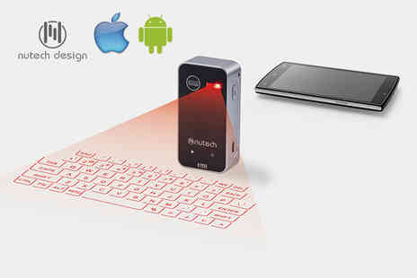 Mainspring Boutique - A portable laser keyboard - Save 75%