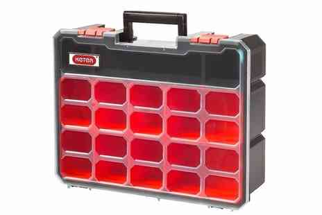 Dream Price Direct - Keter deep tool organiser with eight removable compartments - Save 60%